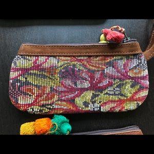 Handbags - Nena & Co. OOAK full floral Mini Clutch